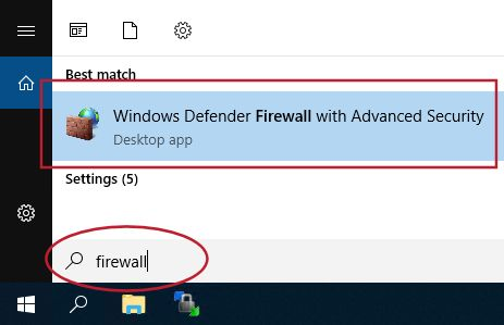 Accessing Windows firewall to restrict access to your VPS by IP address